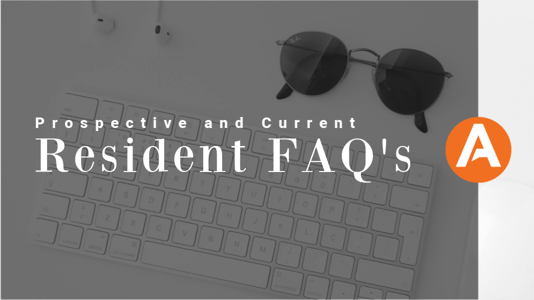 Prospective and Current Resident FAQ Blog Title Image
