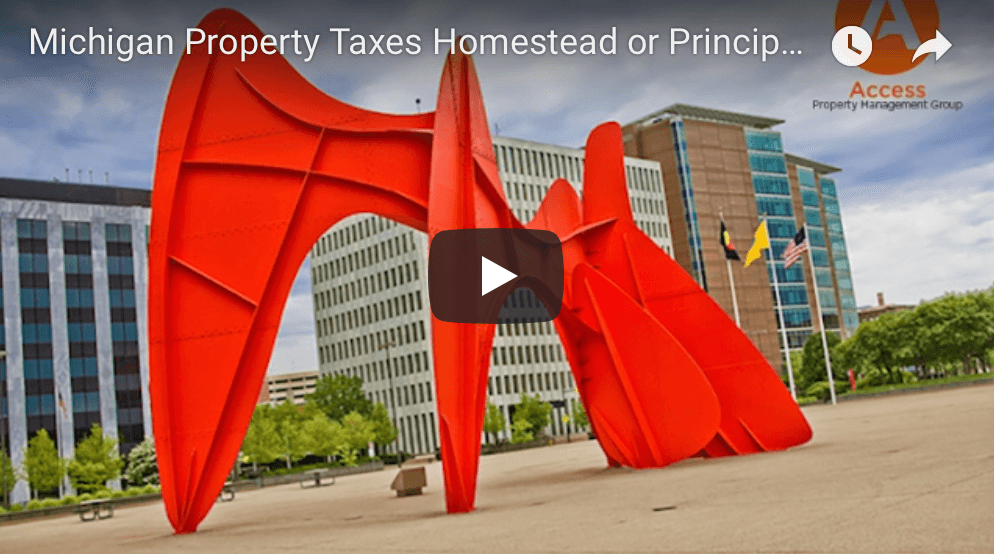 The Ins and Outs of the Michigan Principal Residence Exemption (PRE) or Homestead Exemption