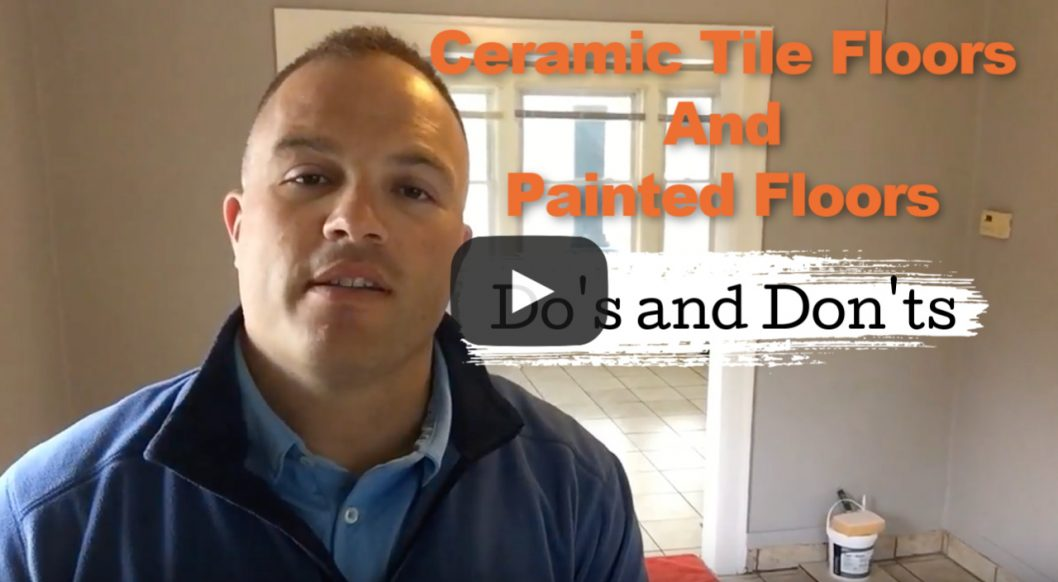Rental Flooring-Ceramic Tile and Painted Floors – Do's and Dont's