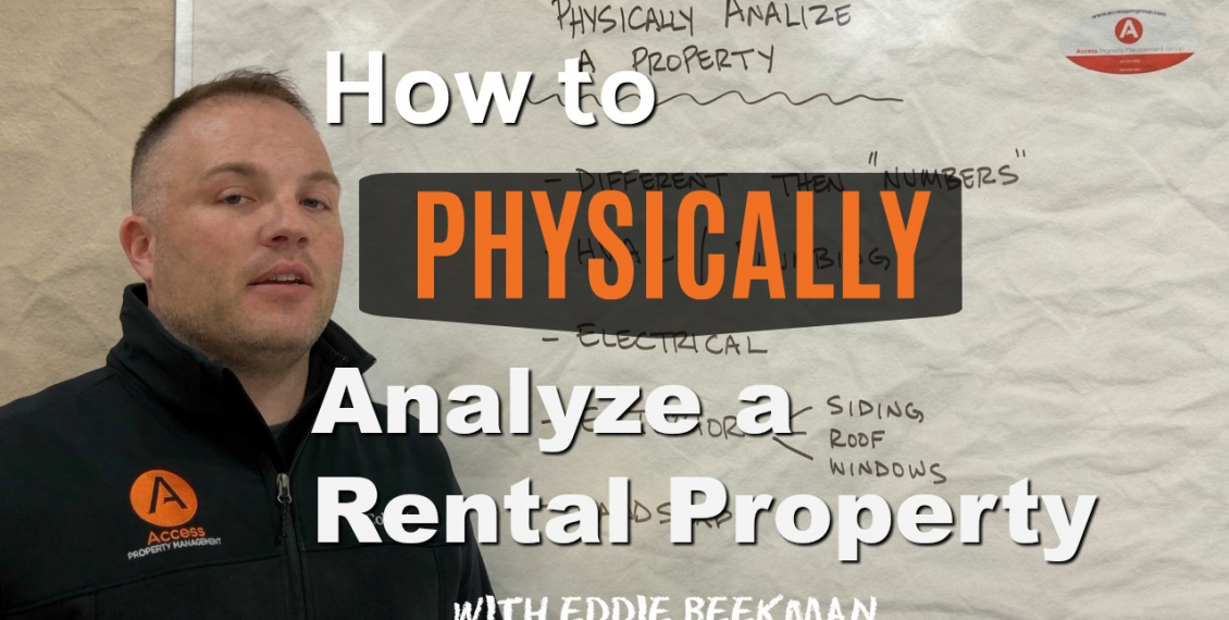 How to physically analyze a property