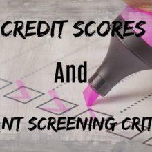 What Minimum Credit Score Should I Accept for Tenant Screening Criteria?