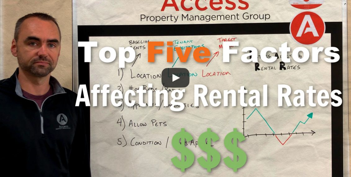 Factors affecting rental rates title Image