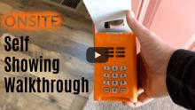 Onsite Self Showing Walkthrough Video