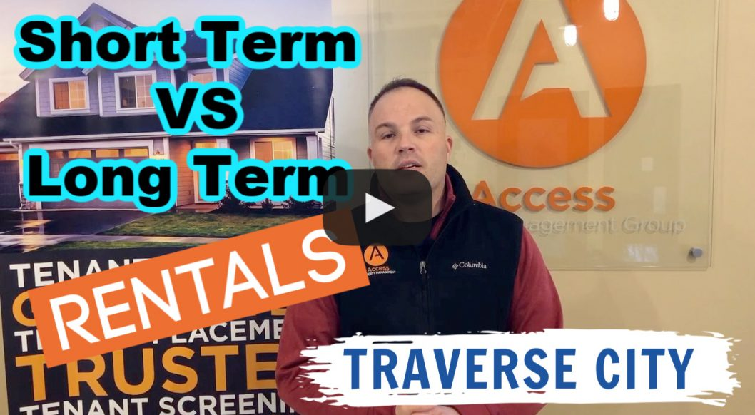Traverse City Rental Investing: Which is Better? Short-term or Long-term Rentals
